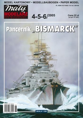 Schlachtschiff Der Kriegsmarine Bismarck Battleship 1300 Maly